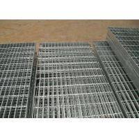 Quality Stainless Steel Grating Platform Pitch 30mm x 100mm , Galvanised Steel Grating wholesale