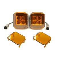 Cheap 3 Inch LED Car Lighting Accessories Amber Cube Pods Cover Offroad Truck Cover for sale