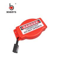Cheap Red Color Universal Valve Lockout , PP Material Gate Valve Lock Out for sale
