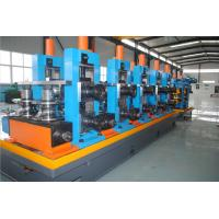 China Galvanized Steel Tube Mill Machine 5mm Thickness Pipe With Innovative Design on sale