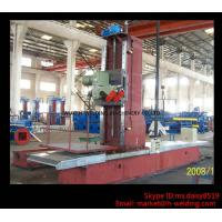 Cheap Automatic End Face Milling Machine 6KW 1200mm * 1500mm for H Beam / Box Beam Line for sale