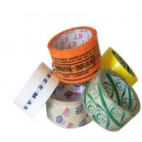 Quality OEM Logo High Temperature Adhesive Tape Bopp Jumbo Roll , High Heat Resistant Tape wholesale