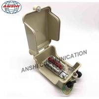 Buy cheap ANSHI 4&5 Paris External Distribution Terminal STB Module Box With Grounding Wire Din Rail from wholesalers