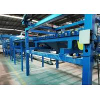 Quality SGS Rock Wool Sandwich Panel Line Max Panel 10m With Hydraulic Bandsaw Cutting wholesale