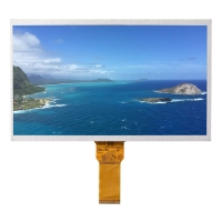 Quality ROHS 1024*600 10.1 Inch Lcd Display , 600cd/m2 IPS LCD Module wholesale