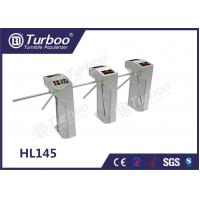 Quality Custom Semi - Auto RFID Access Control Turnstile Gate , Waist High Turnstile wholesale