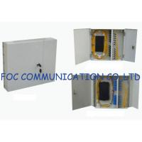 Quality Cold Steel Wall Mount Fiber Optic Patch Panel  Suitabl For Indoor or Outdoor wholesale