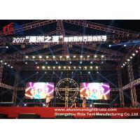 Quality Bolt Lightweight Aluminium Alloy Truss System Sliver / Black Coor 300*300mm Size wholesale
