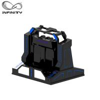 Cheap 2 Seats 9D Motion Simulator Platform Super VR Pendulum Rotation Gaming Machine for sale