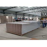 Quality Huamei brand 0.426mm steel sheet 50mm mgo sandwich panel used for wall panel wholesale