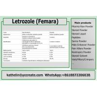 Quality Anti Estrogen Steroid Powder Letrozole / Femara For Running Steroid Cycle PCT 112809-51-5 wholesale