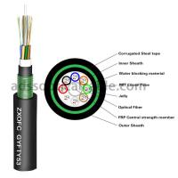 China 48 Cores Direct Burial Fiber Optic Cable GYTY GYTY53 GYFTY53 Low Attenuation on sale