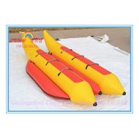 Quality New Inflatable Water Floating Banana Boat for Amusement Park wholesale