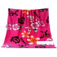 PBK Children Full Color , Thick  Absorbent Custom Printed Beach Towels 80*160cm