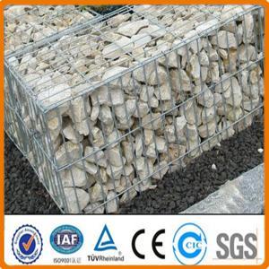 China welded wire mesh gabion box / gabion basket Welded wire gabion mesh on sale