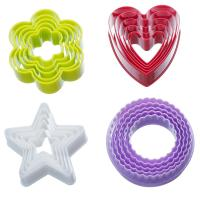 Quality Plastic Colorful Cookie Cutter Set - 20 Piece 3D Bakeware Cookie Tools Set wholesale
