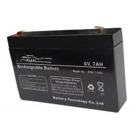 China 6v 7ah AGM Lead Acid Battery For Solar & Wind Power Generation Systems on sale