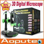 Quality 3D USB Digital Microscope,Handheld Measuring Microscope USB Microscope Camera 500x Zoom,2M Resolution wholesale
