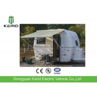Quality Easy Towing Camper Van Trailer , Compact Lightweight Rv Trailers With Awning wholesale