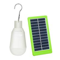 Quality Portable Led Bulb Solar Panel Yard Lights Outdoor Rechargeable 7W For Camping wholesale