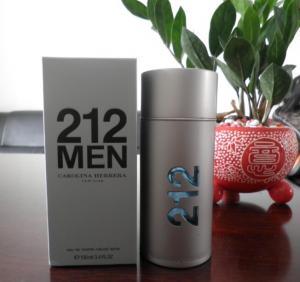 Quality designer perfume 212 men cologne 100ml wholesale