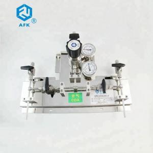 China High Pressure Changeover Oxygen ss pressure regulator on sale