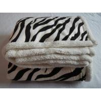 Quality Super Soft Sherpa Throw, Printed Micro Mink Blanket wholesale