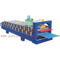 Quality PLC Control Automatic Steel Roof Panel Roll Forming Machine Double Layer High Efficiency wholesale