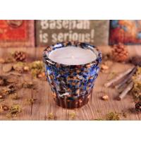 Quality Heat Resistant Marbel Design Ceramic Candle Holders for Weddding Decor wholesale