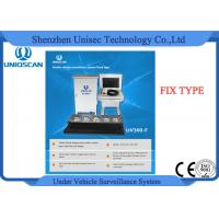 Quality Waterproof Fixed Type Under Vehicle Scanning System With 22 Inch Screen wholesale