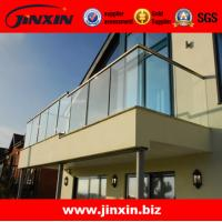 Quality Stainless steel glass balcony railing for fence designs wholesale