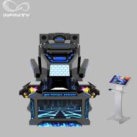 Quality 1 Seat Real Track VR Racing Simulator / 360 Degree Electric Motion  Car Racing Machine wholesale