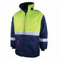 Quality Work Winter Jacket, Strong Sewing, Made of Nylon Oxford wholesale