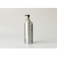 China 25OZ 0.75L Facial Cleanser Aluminum Cosmetic Bottles on sale