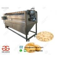 Quality High Efficiency Potato Washing and Peeling Machine In French Fries Production Line Or Potato Chips Production Line wholesale