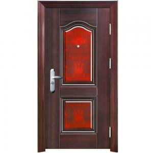 Quality nigeria market flush interior steel door, steel security door wholesale