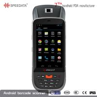 Quality Android Handheld UHF RFID Reader Fingerprint Module 4.5'' Touch Screen for sale