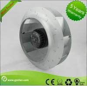 Cheap 310mm EC Motor Backward Curved Centrifugal Fan , Brushless DC Fan Blower for sale