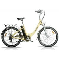 Quality Aluminium Alloy Frame City Electric Bicycle / E - bike with Large Range wholesale