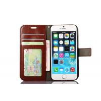 Quality Side Open Custom Wallet Cell Phone Case , Horse Magnetic Leather Case Apple Iphone8 wholesale