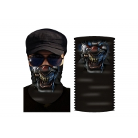China Hair Wrap Polyester Microfiber Large Biker Face Bandana on sale