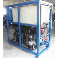 Quality Commercial Industrial Water Cooled Chiller , R22 Refrigerant wholesale