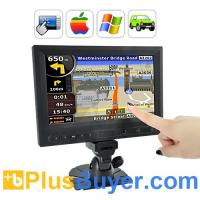 China 8 Inch LCD Touchscreen Monitor for Automobiles - AV/VGA/HDMI In on sale