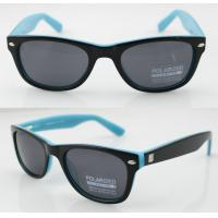 Quality Custom Made Blue Classical Oval Sunglasses With CR39 Lens wholesale