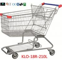 Quality 210 Litre Grocery Shopping Trolley With Zinc Or E - Coating With Color Powder Coating wholesale
