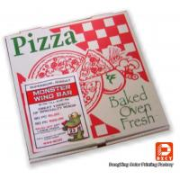 Quality Recyclable Corrugated Cardboard Packaging Pizza Boxes Personalized Pantone Color wholesale