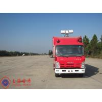 Three Seats Fire Fighting Vehicles 15KW Air Compressor Gas Engine Fire Vehicle