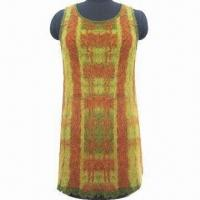 Quality Pullover Knitted Dress, Made of 32% Nylon, 38% Acrylic and 30% Alpaca wholesale