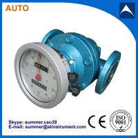 Quality Oval Gear Fuel Flow Meter used for palm oil dende oil to Malaysia with reasonable price wholesale