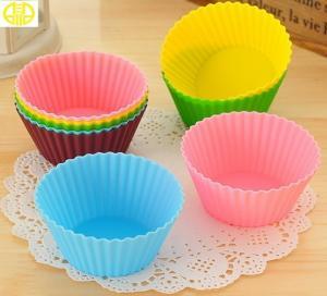 China Mini Super Fun Silicone Cupcake Liners Silicone Cake Tooling on sale